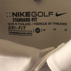 Nike golf shirt dri-fit